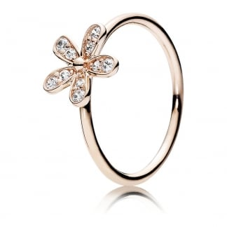 Rose Dazzling Daisy Ring