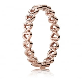 Rose Linked Love Ring