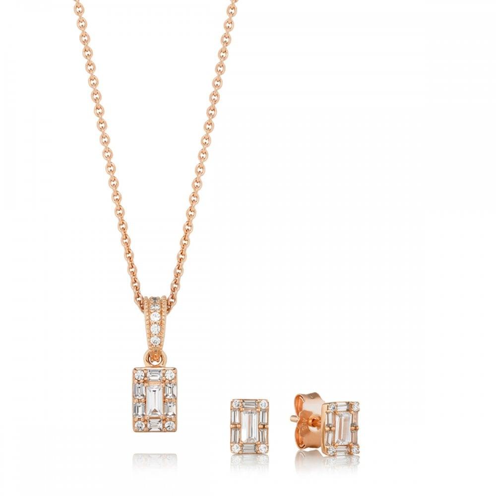 Pandora Rose Luminous Ice Gift Set Jewellery From Francis Gaye Jewellers Uk
