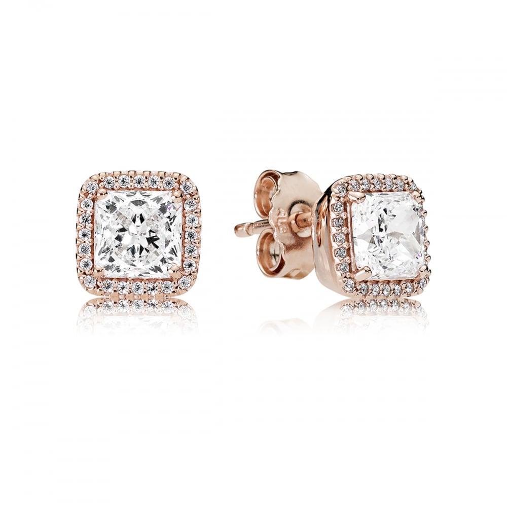 9c4c3b521 Pandora Rose Timeless Elegance Stud Earrings Product Code: 280591CZ
