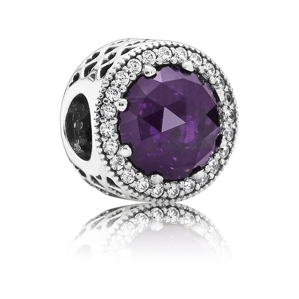 f6d734db0 Pandora Royal Purple Radiant Hearts Charm Product Code: 791725NRP
