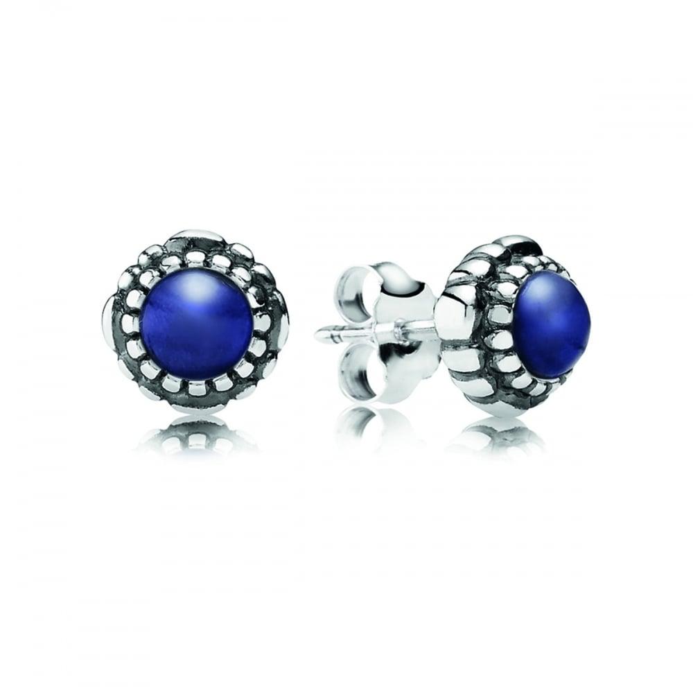2cadfff8465a2 Pandora September Birthstone Stud Earrings
