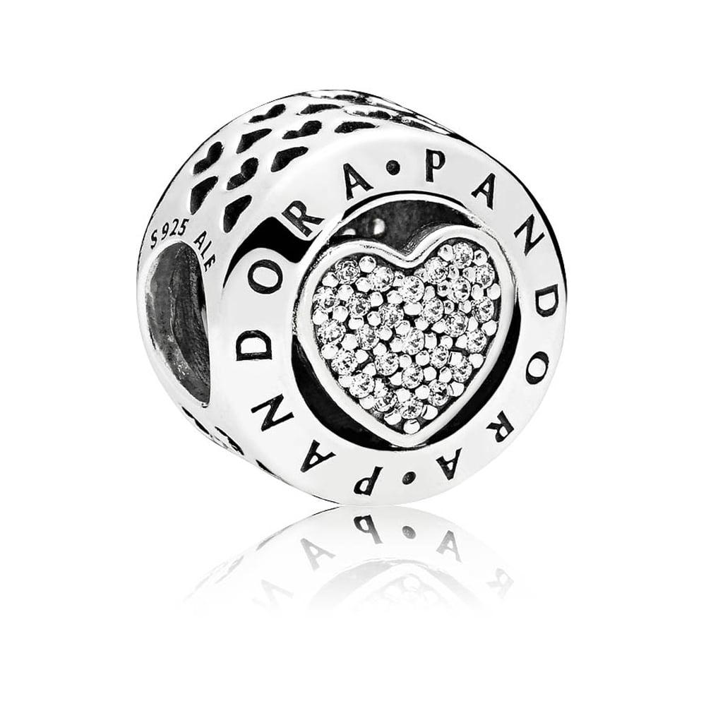 194396dca Pandora Signature Heart Charm