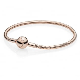 Smooth Rose Clasp Bracelet