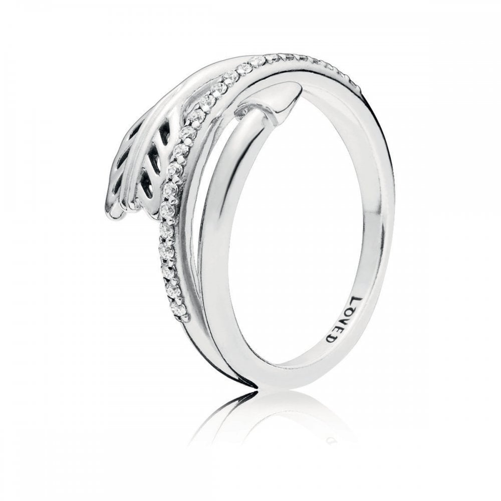 74833aa3d Pandora Sparkling Arrows Ring - Jewellery from Francis & Gaye ...