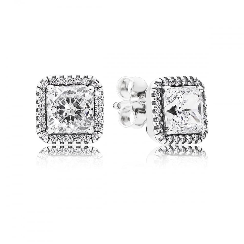 d9c005e60 Pandora Timeless Elegance Stud Earrings - Jewellery from Francis ...
