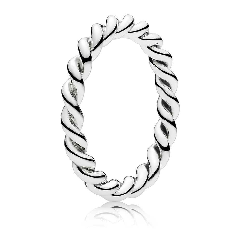 1d24c5a0f Pandora Twisted Stacking Ring - Jewellery from Francis & Gaye ...