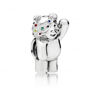 Vibrant Pudsey Bear Charm