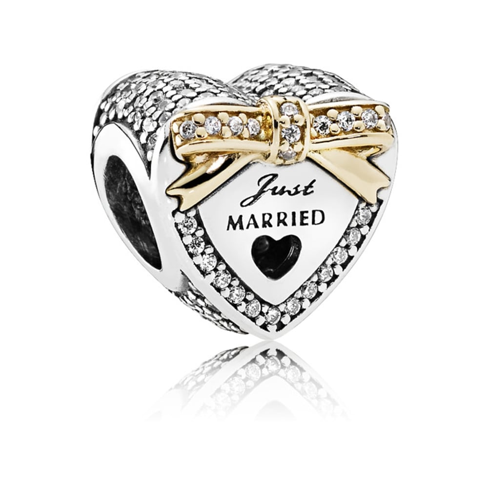 Pandora Wedding Day Heart Charm