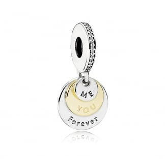 You & Me Forever Dangly Charm
