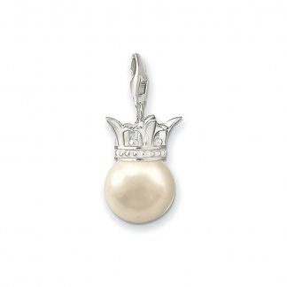 Pearl Crown Charm 0402-028-14