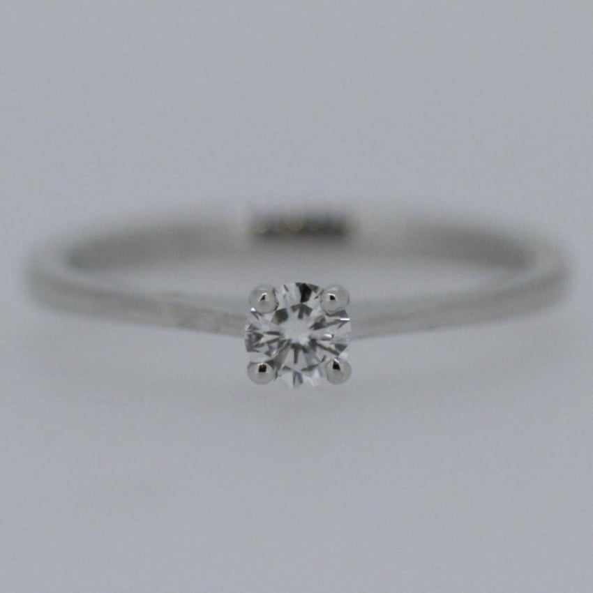Francis & Gaye Platinum 0.21ct Diamond Solitaire Ring M8113