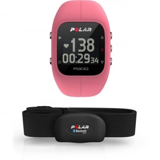 Pink A300 Bluetooth® Activity Tracker With HRM