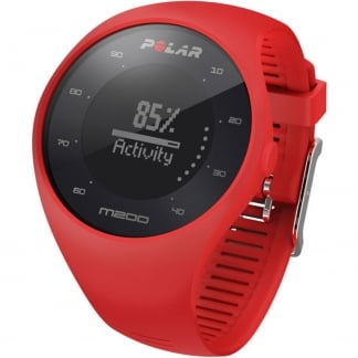 Red M200 Integrated GPS Running Watch