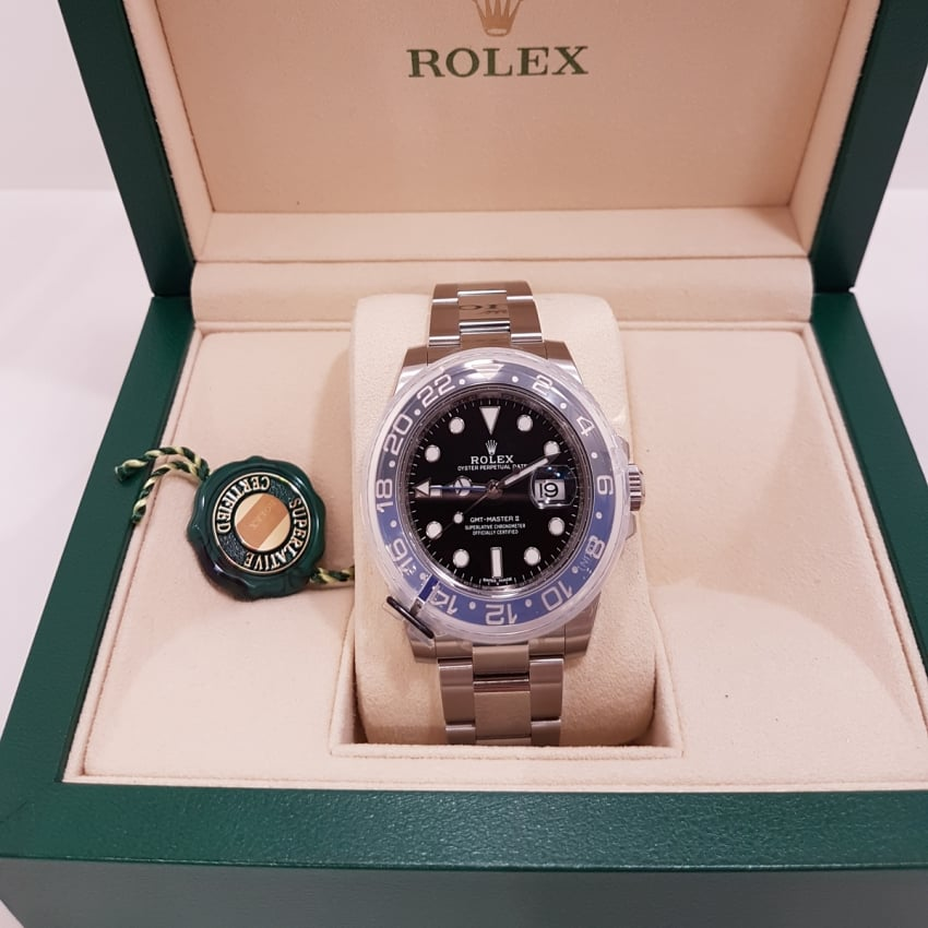 Pre-Owned Rolex Men's GMT Master II 'Batman' 116710 BLNR (2018) 4018981