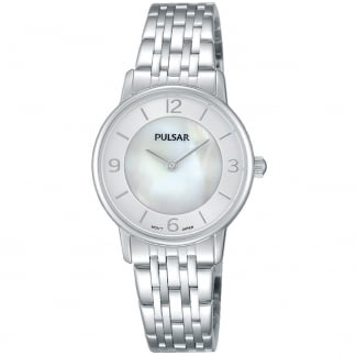 Ladies Classic Mother of Pearl Dial Watch