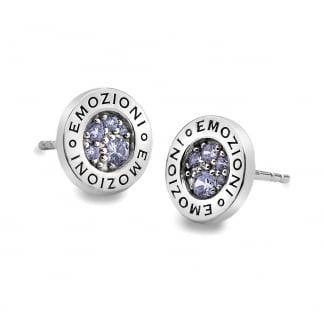 Purple Spirituality Earring Studs