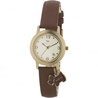 Ladies Darlington Brown Strap Watch RY2140