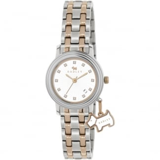 Ladies 'Euston Link' Two Tone Bracelet Watch RY4127
