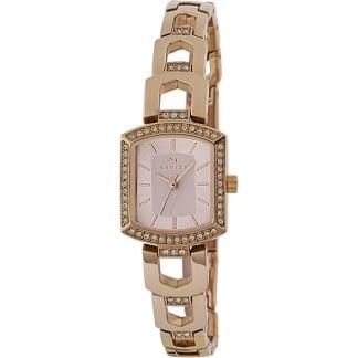 Ladies 'Grosvenor' Rose Gold Bracelet Watch RY4198