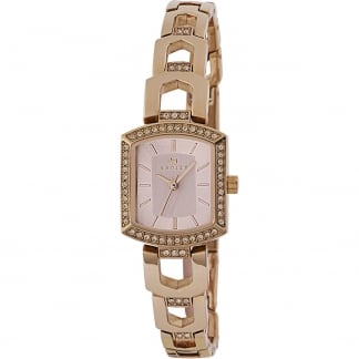 Ladies 'Grosvenor' Rose Gold Bracelet Watch RY4198