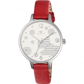Ladies Ormond Blazer Red Strap Watch RY2395