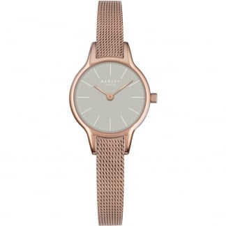 Ladies Rose Gold Mesh 'Millbank' Watch RY4250