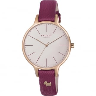 Ladies Ruby Wimbledon Rose PVD Watch RY2416