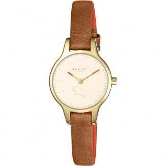 Ladies Wimbledon Tan Leather Watch RY2410
