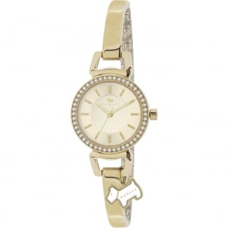 Ladies 'Aldgate' Gold Half Bangle Watch RY4152