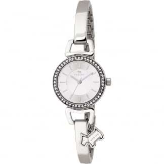 Ladies 'Aldgate' Stone Set Steel Bangle Watch RY4071