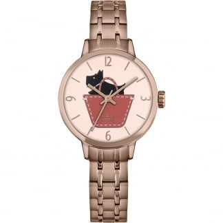 Ladies Rose Gold Bracelet Watch RY4242
