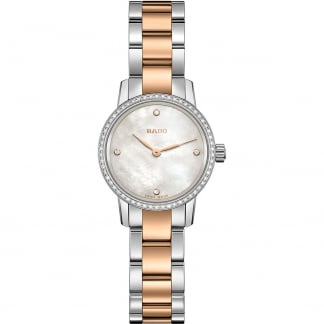 Ladies Bi-Colour Coupole Classic Diamond XS Watch