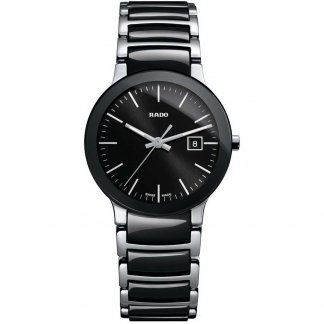 Ladies Centrix S Quartz Black Ceramic Watch R30935162