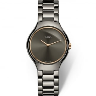 Ladies Plasma Ceramic True Thinline Quartz Watch