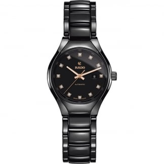 Ladies True 12-Diamond Ceramic Automatic Watch