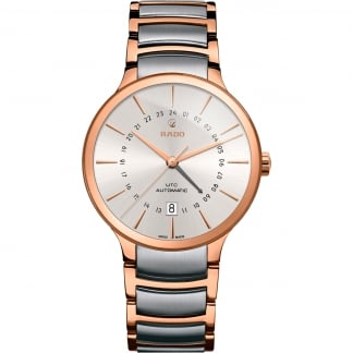 Men's Centrix GMT Automatic Steel & Rose Watch