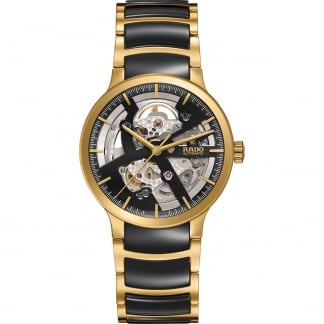 Men's Centrix Two Tone Open Heart Automatic Watch