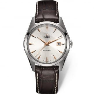 Men's HyperChrome Brown Leather Automatic Watch