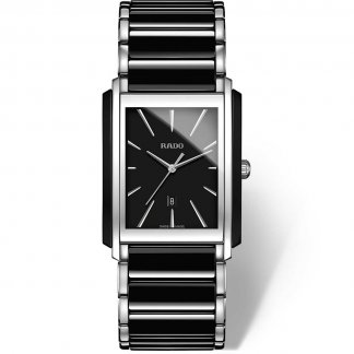 Men's Sleek Two Tone Integral Quartz Watch
