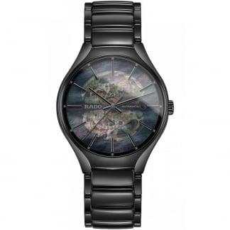 Men's True Automatic Open Heart Black Ceramic Watch R27101902