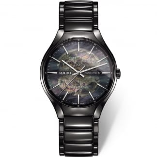 Men's True Open Heart Automatic Ceramic Watch