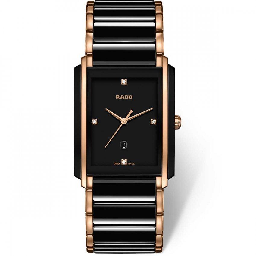 RADO Men's Two Tone Integral Jubile Quartz Watch R20207712