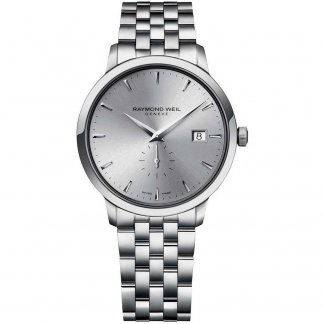 Gent's Steel Toccata Watch With Small Second