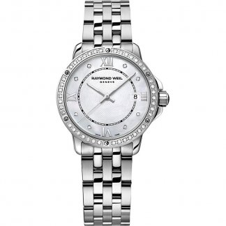 Ladies Tango Diamond Set All Steel Bezel Watch 5391-STS-00995