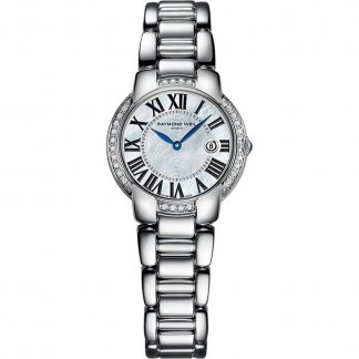 Ladies Diamond Encrusted Mother of Pearl Jasmine Watch 5229-STS-00970