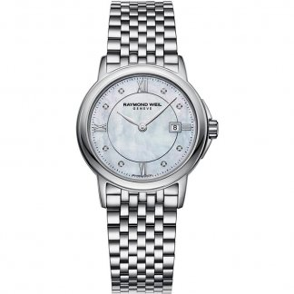 Ladies Diamond Set MOP Dial Tradition Watch