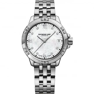 Ladies Tango Quartz Diamond Set Watch