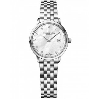 Ladies Diamond Set Toccata Mother of Pearl Watch