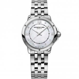 Ladies Luxury Diamond Set All Steel Tango Watch